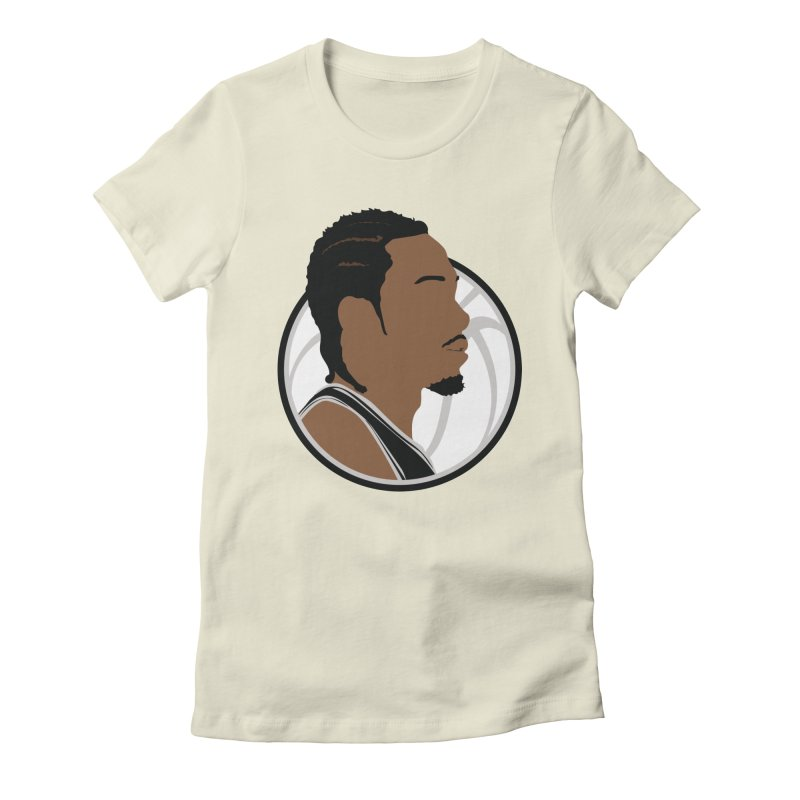 Kawhi Leonard Women's Fitted T-Shirt by Shane Guymon