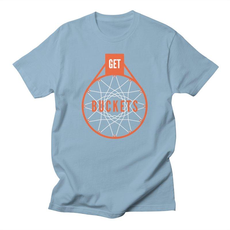Get Buckets Men's T-Shirt by Shane Guymon Shirt Shop
