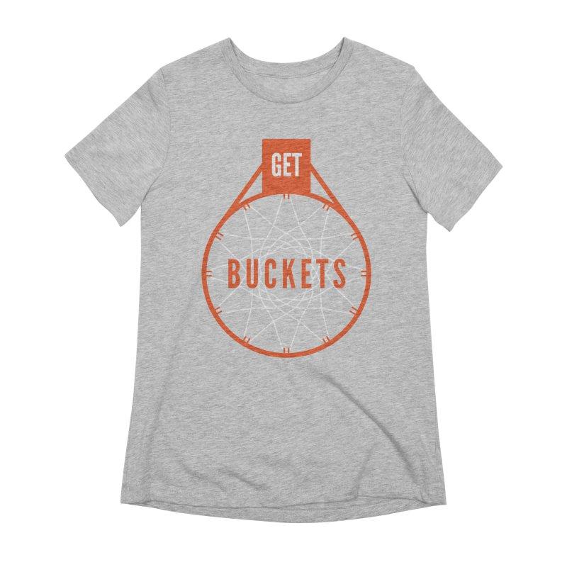 Get Buckets Women's T-Shirt by Shane Guymon Shirt Shop