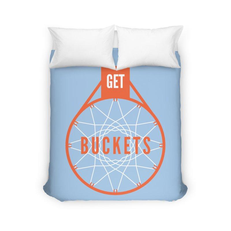 Get Buckets Home Duvet by Shane Guymon Shirt Shop