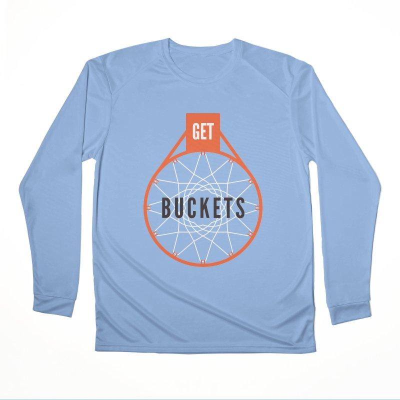 Get Buckets Men's Longsleeve T-Shirt by Shane Guymon Shirt Shop