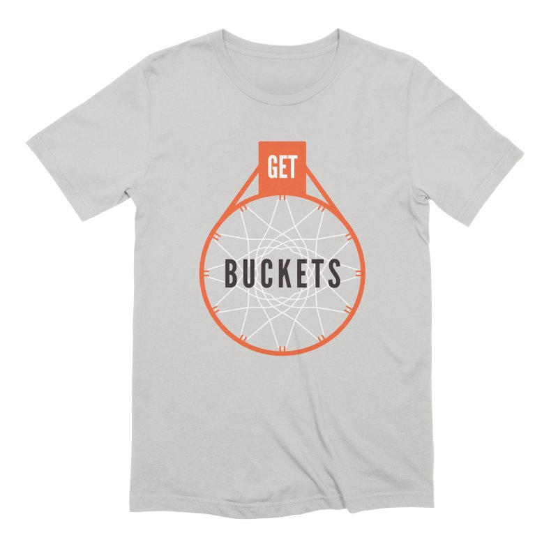 Get Buckets Men's Extra Soft T-Shirt by Shane Guymon