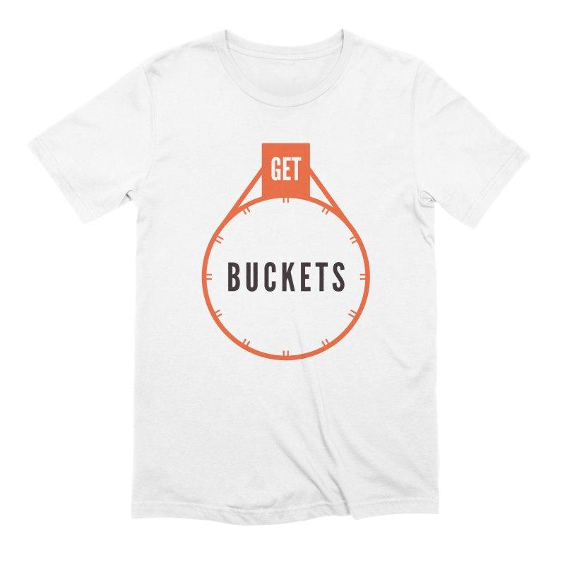 Get Buckets Men's Extra Soft T-Shirt by Shane Guymon