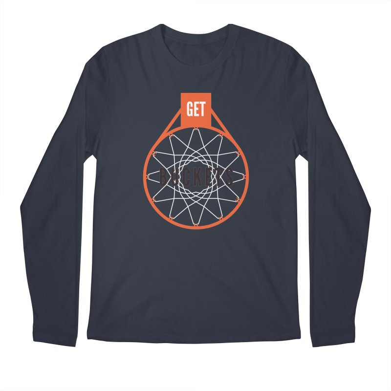 Get Buckets Men's Longsleeve T-Shirt by Shane Guymon