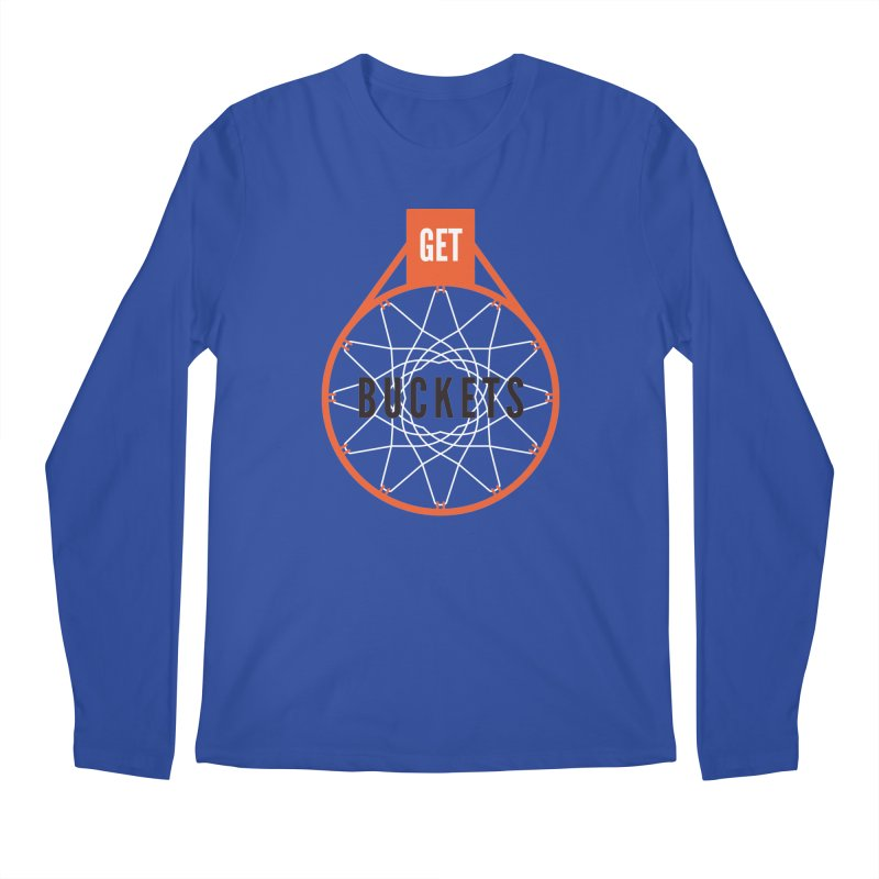 Get Buckets Men's Regular Longsleeve T-Shirt by Shane Guymon