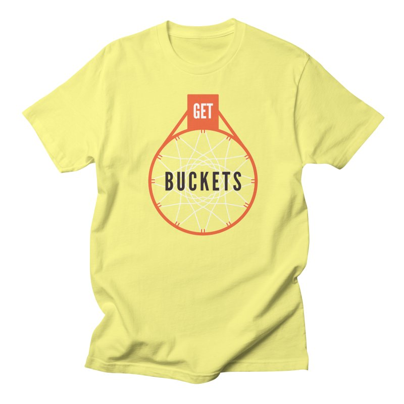 Get Buckets Men's T-Shirt by Shane Guymon
