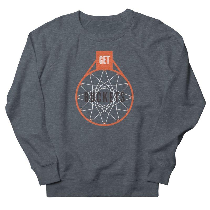 Get Buckets Men's Sweatshirt by Shane Guymon