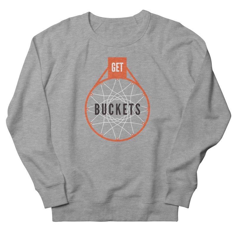 Get Buckets Men's French Terry Sweatshirt by Shane Guymon