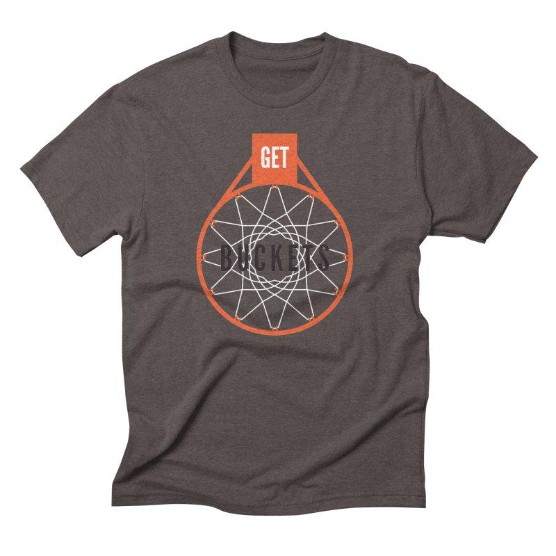Get Buckets Men's Triblend T-Shirt by Shane Guymon