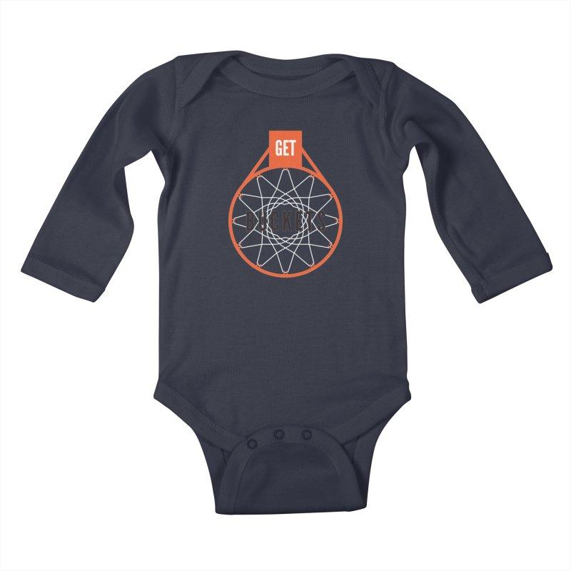 Get Buckets Kids Baby Longsleeve Bodysuit by Shane Guymon Shirt Shop