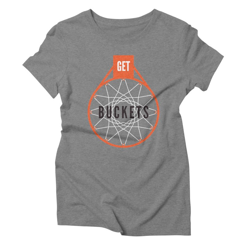 Get Buckets Women's Triblend T-Shirt by Shane Guymon