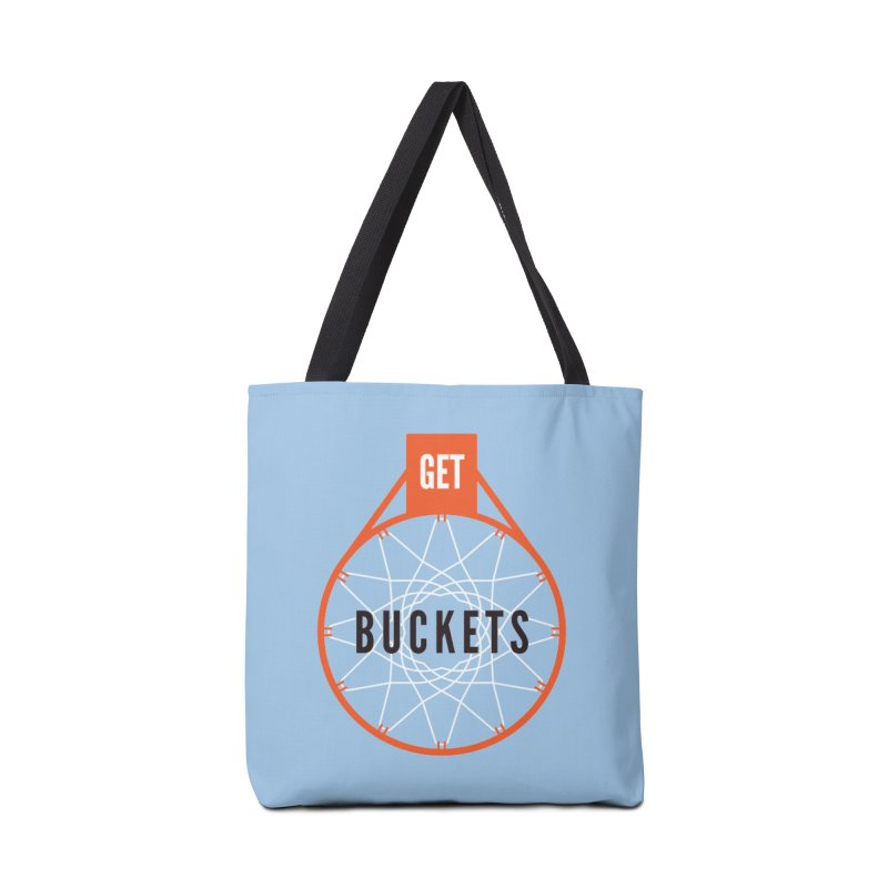 Get Buckets Accessories Tote Bag Bag by Shane Guymon