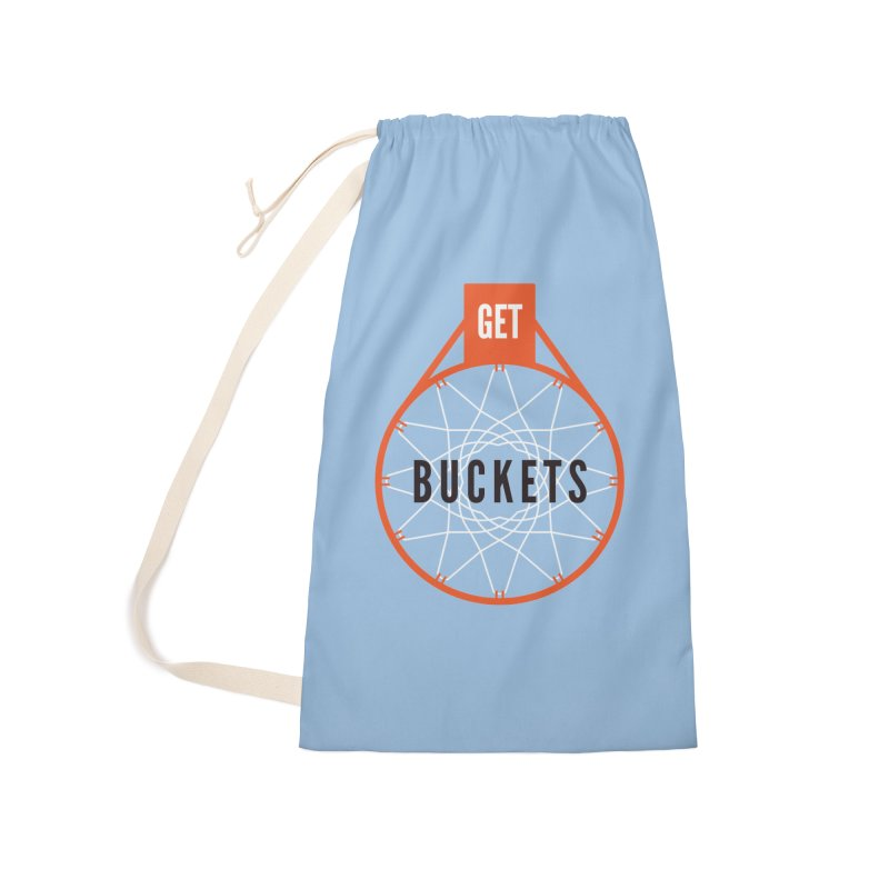 Get Buckets Accessories Laundry Bag Bag by Shane Guymon