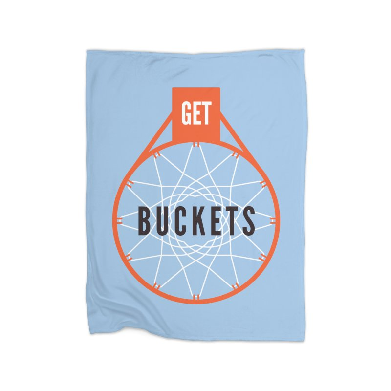 Get Buckets Home Fleece Blanket Blanket by Shane Guymon
