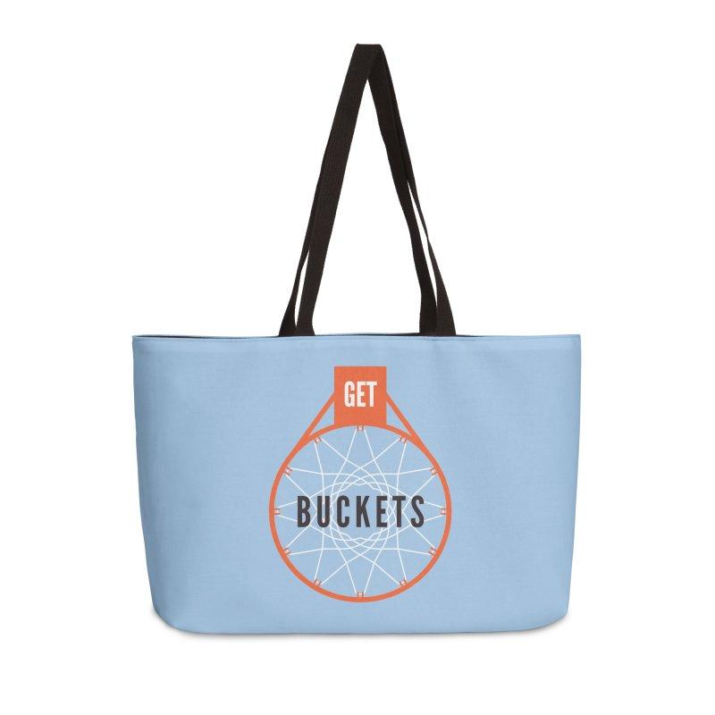 Get Buckets Accessories Weekender Bag Bag by Shane Guymon
