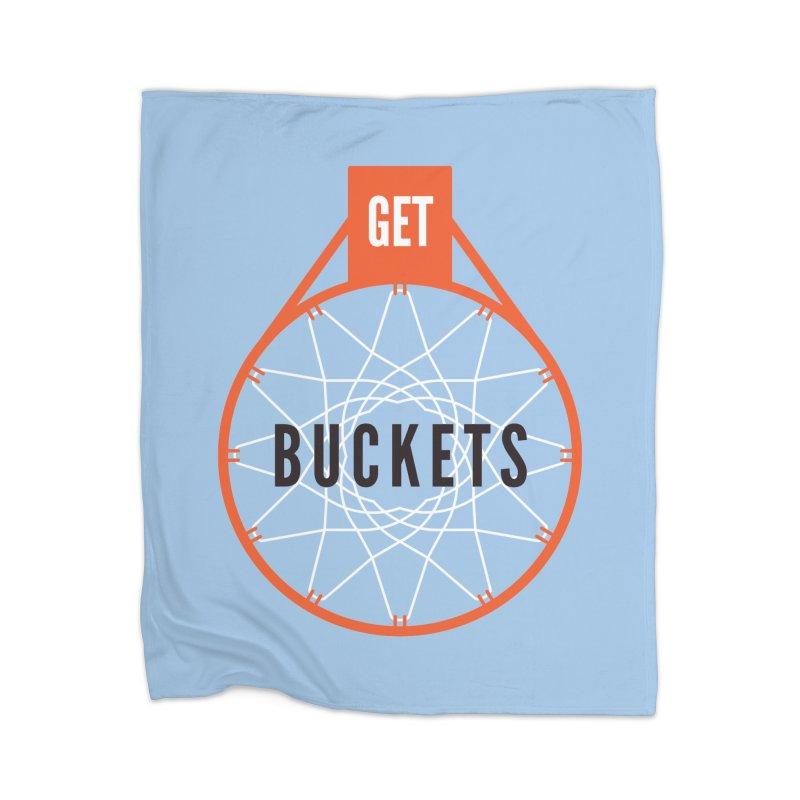 Get Buckets Home Blanket by Shane Guymon Shirt Shop