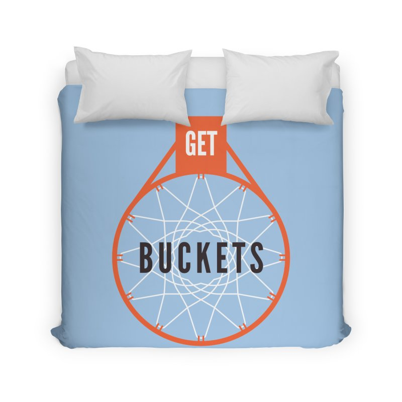 Get Buckets Home Duvet by Shane Guymon