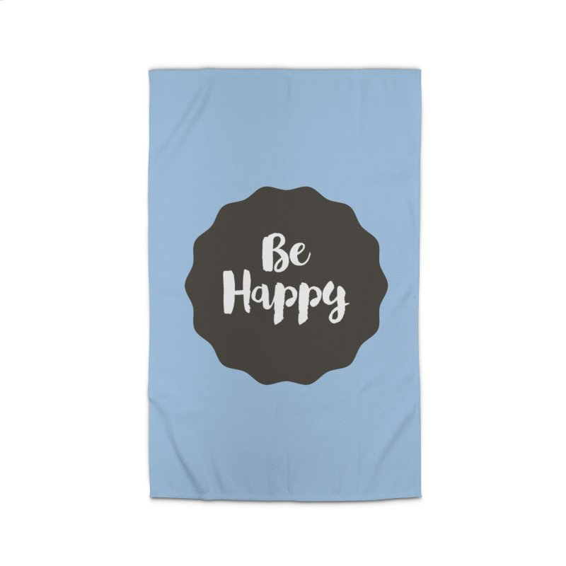 Be Happy Home Rug by Shane Guymon