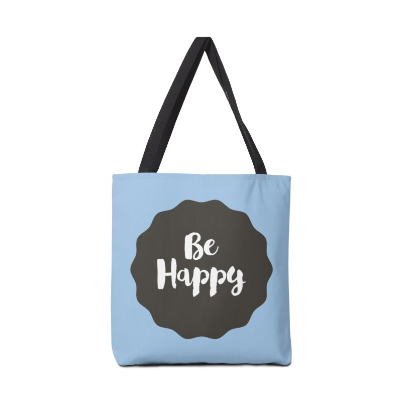 Be Happy Accessories Bag by Shane Guymon