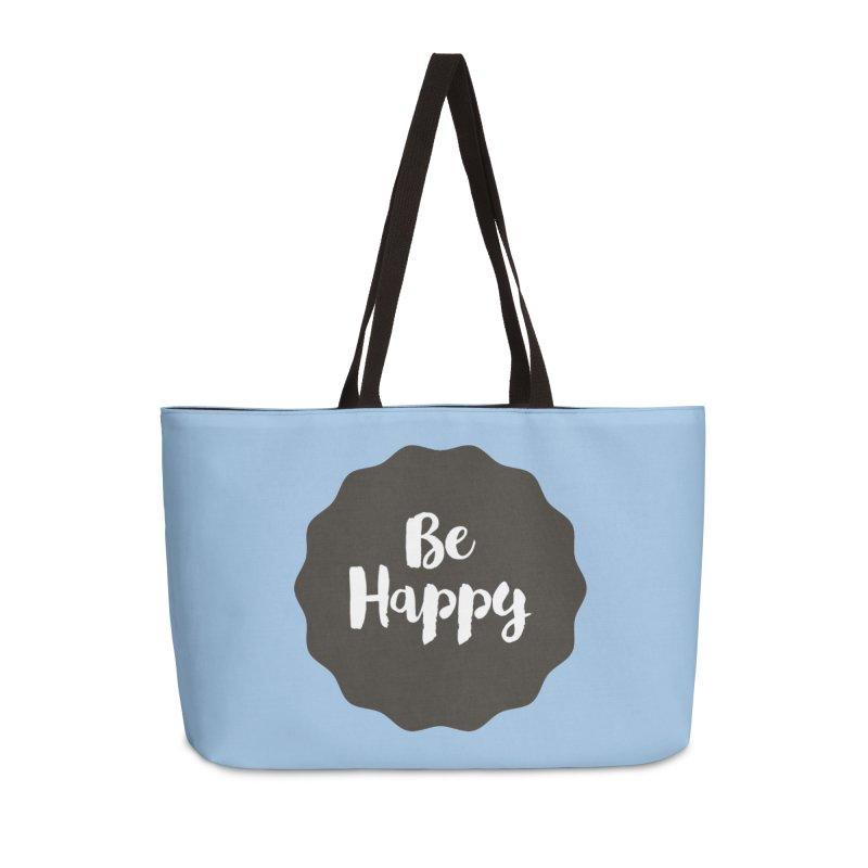 Be Happy Accessories Weekender Bag Bag by Shane Guymon