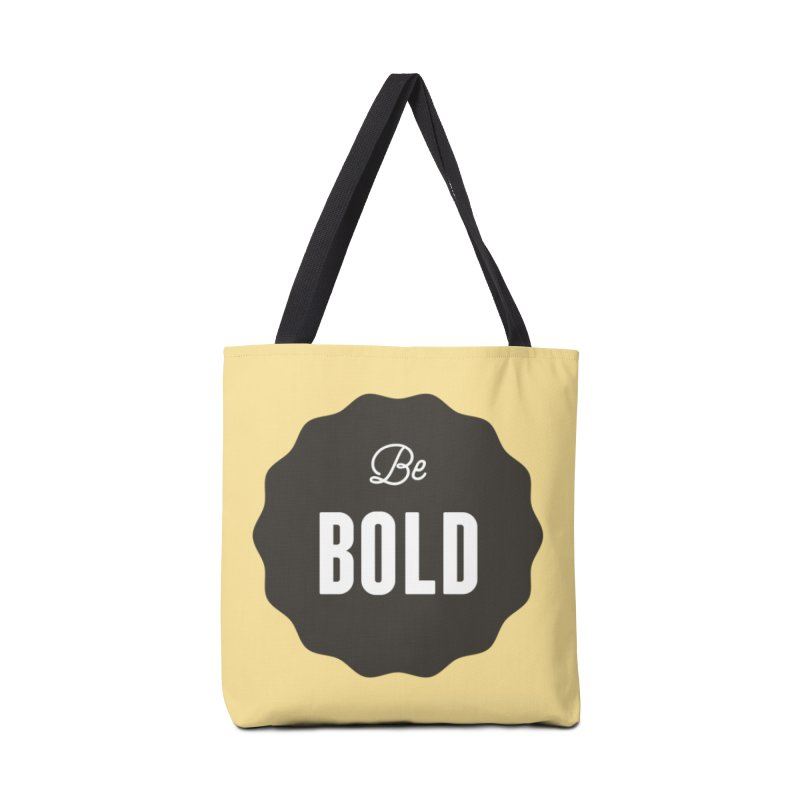 Be Bold Accessories Bag by Shane Guymon