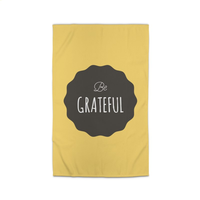 Be Grateful Home Rug by Shane Guymon