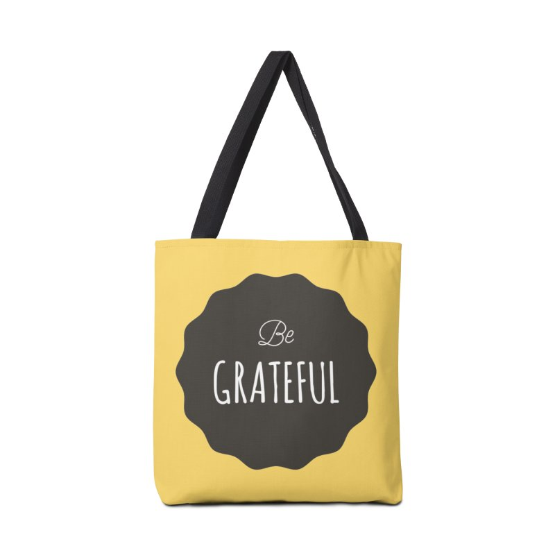 Be Grateful Accessories Bag by Shane Guymon