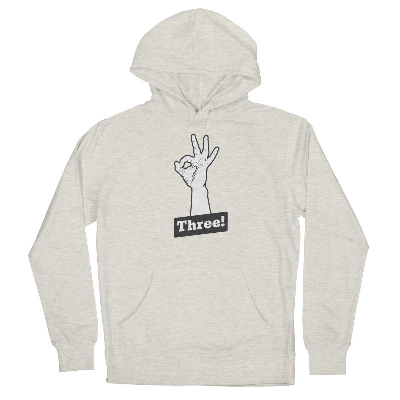 Three! Men's Pullover Hoody by Shane Guymon Shirt Shop