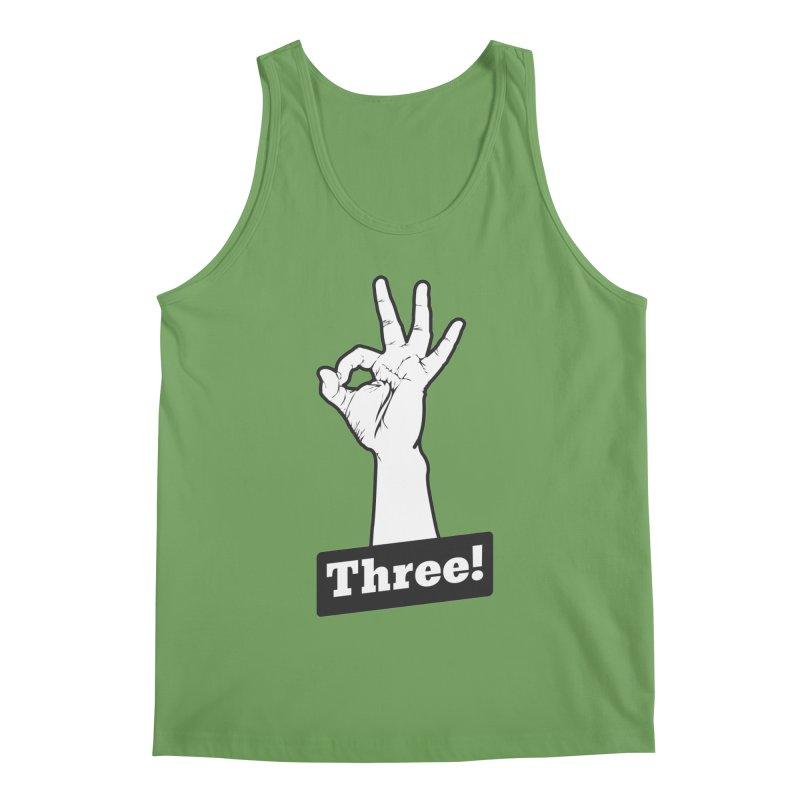 Three! Men's Tank by Shane Guymon Shirt Shop