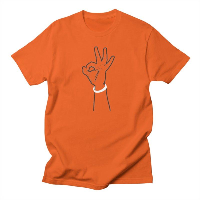 Three! Men's T-Shirt by Shane Guymon