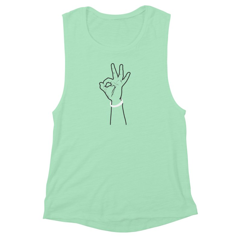 Three! Women's Muscle Tank by Shane Guymon