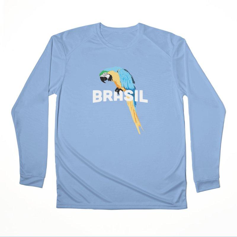 Parrot Women's Longsleeve T-Shirt by Shane Guymon Shirt Shop