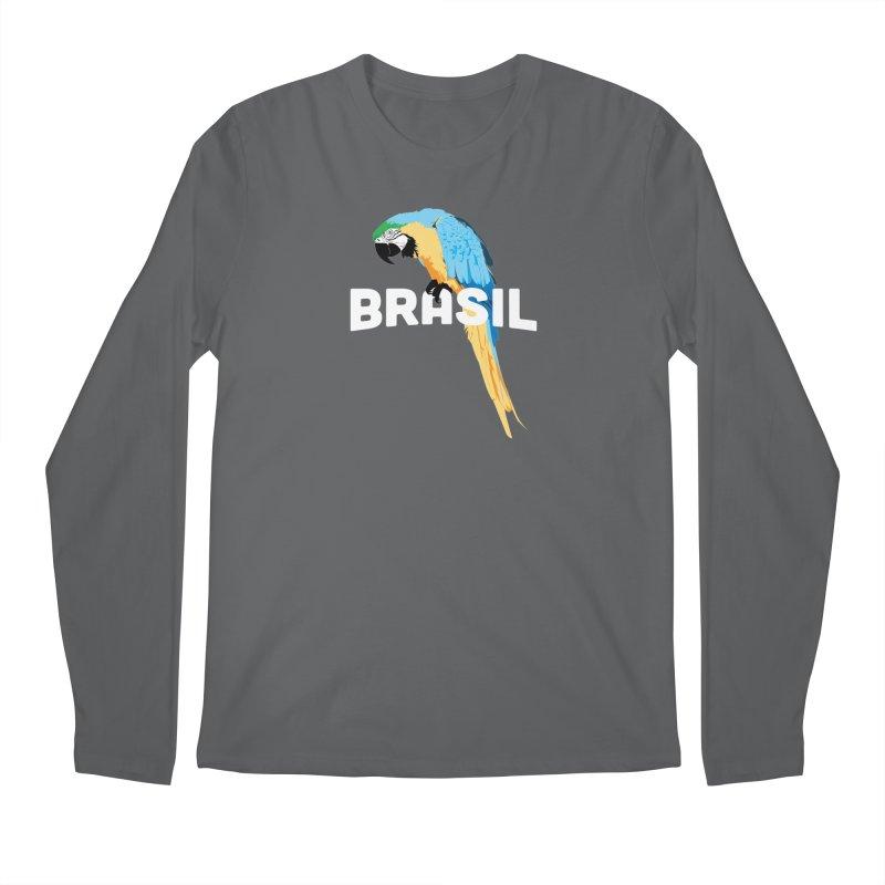 Parrot Men's Longsleeve T-Shirt by Shane Guymon Shirt Shop