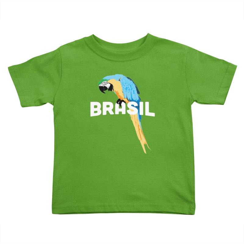 Parrot Kids Toddler T-Shirt by Shane Guymon Shirt Shop