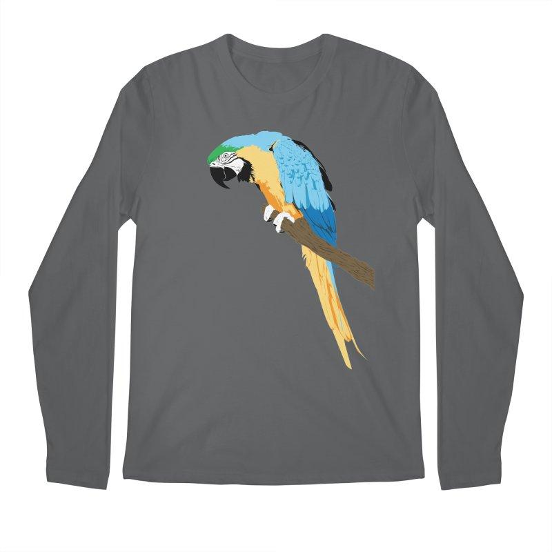 Parrot Men's Regular Longsleeve T-Shirt by Shane Guymon