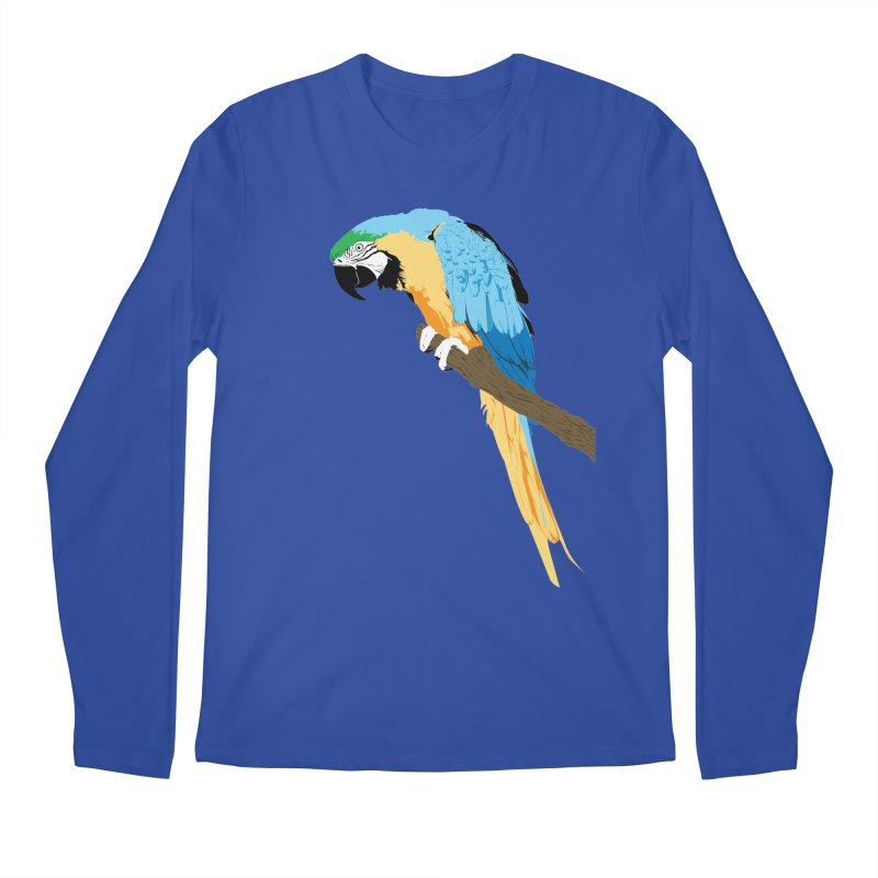 Parrot Men's Regular Longsleeve T-Shirt by Shane Guymon