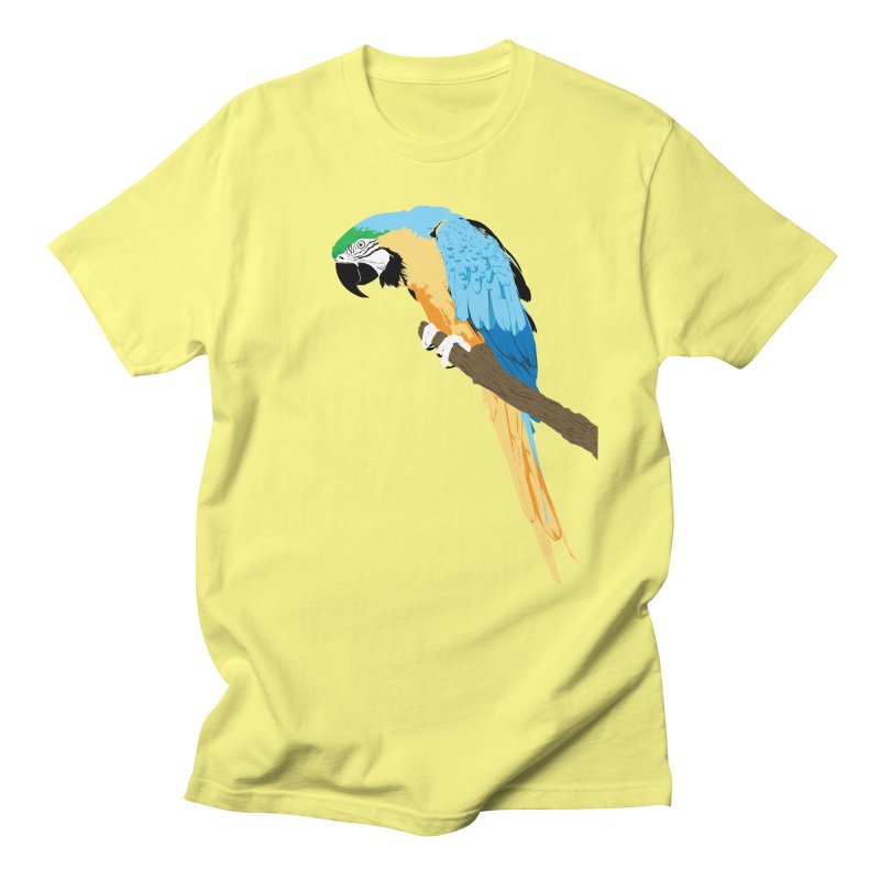 Parrot Men's Regular T-Shirt by Shane Guymon