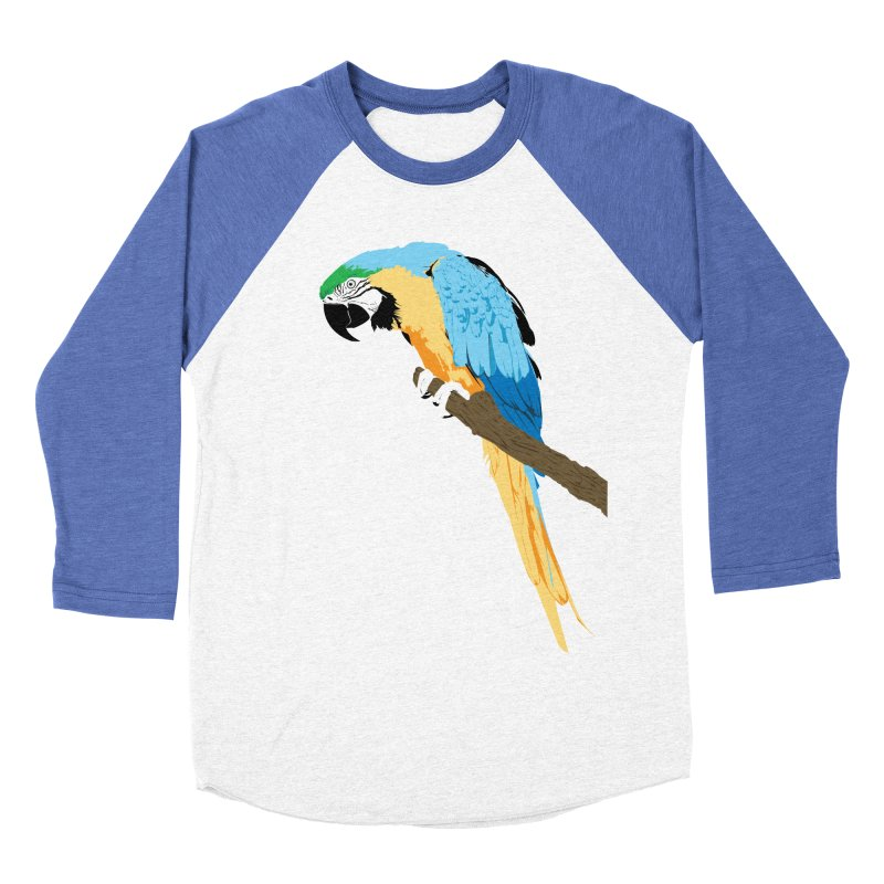 Parrot Women's Baseball Triblend T-Shirt by Shane Guymon