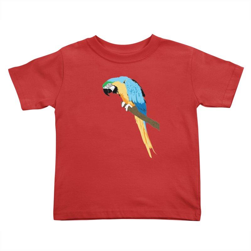 Parrot Kids Toddler T-Shirt by Shane Guymon