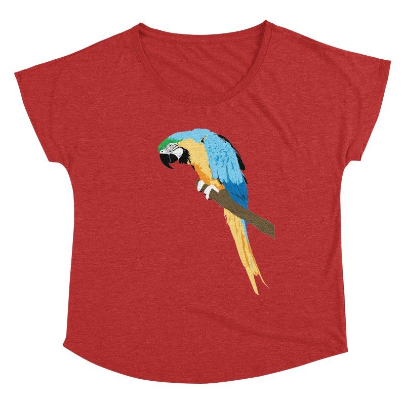 Parrot Women's Dolman Scoop Neck by Shane Guymon