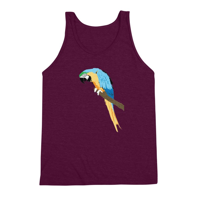 Parrot Men's Tank by Shane Guymon