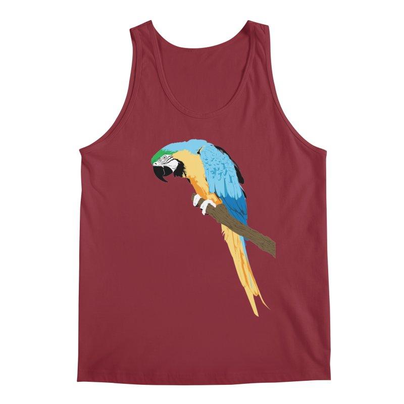Parrot Men's Regular Tank by Shane Guymon