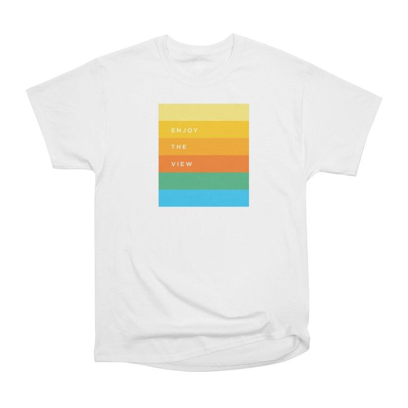 Enjoy the view Women's Classic Unisex T-Shirt by Shane Guymon