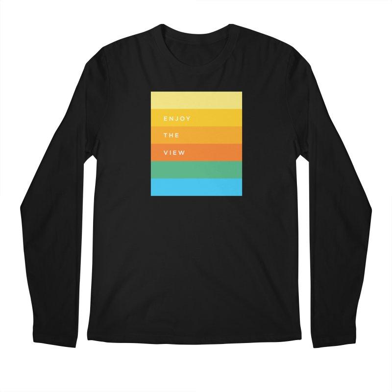 Enjoy the view Men's Regular Longsleeve T-Shirt by Shane Guymon