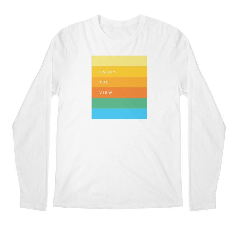 Enjoy the view Men's Regular Longsleeve T-Shirt by Shane Guymon