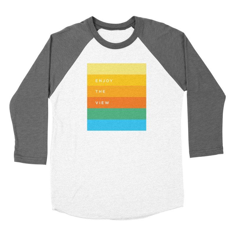 Enjoy the view Men's Baseball Triblend T-Shirt by Shane Guymon