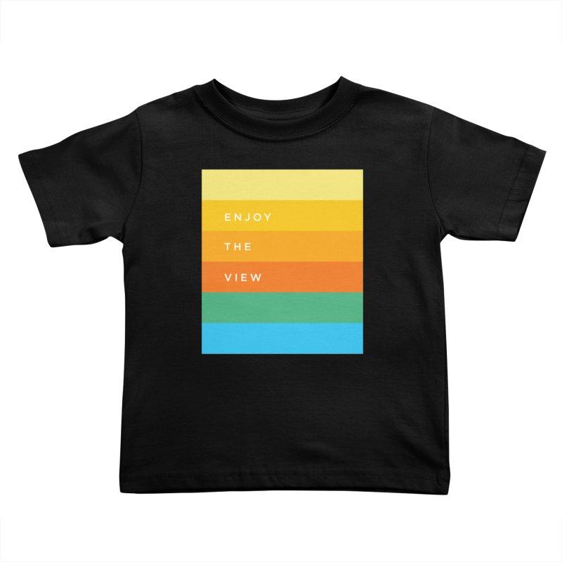 Enjoy the view Kids Toddler T-Shirt by Shane Guymon Shirt Shop