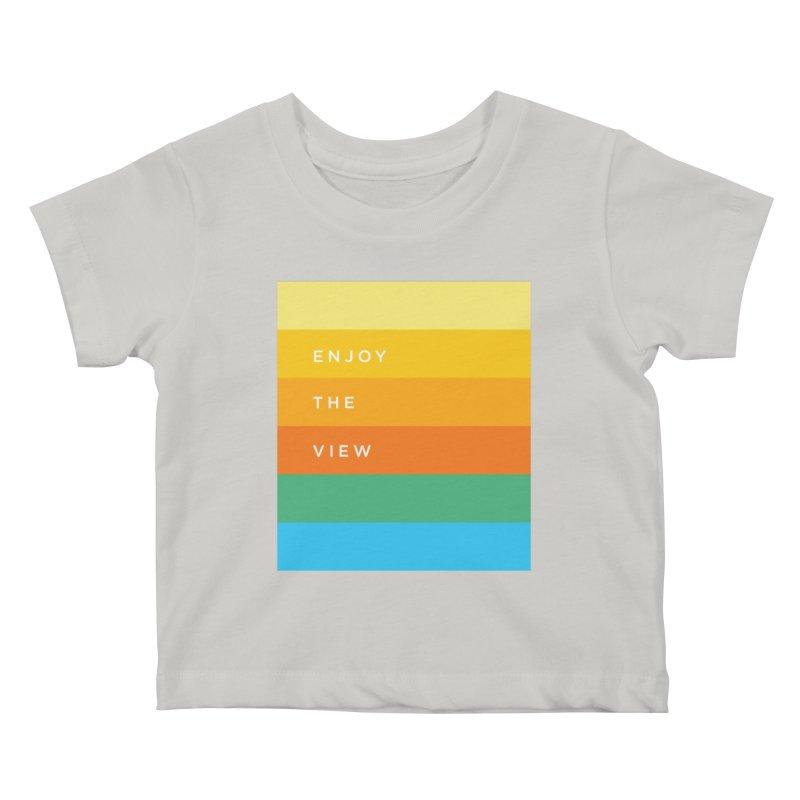 Enjoy the view Kids Baby T-Shirt by Shane Guymon