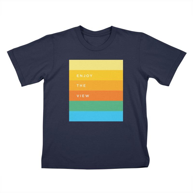 Enjoy the view Kids T-Shirt by Shane Guymon Shirt Shop