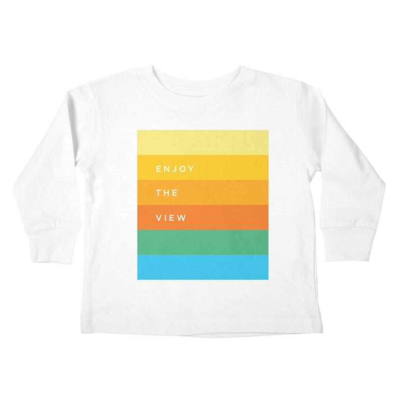 Enjoy the view Kids Toddler Longsleeve T-Shirt by Shane Guymon